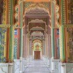 La puerta más colorida de India